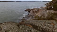 Seashore rocks (Cape Porkkalanniemi, Kirkkonummi, 20150118) (RainoL) Tags: longexposure winter sea seascape suomi finland geotagged january balticsea u fin seashore uusimaa 2015 porkala kirkkonummi kyrksltt porkkalanniemi fz200 201501 20150118 geo:lat=5997859073 geo:lon=2439243543