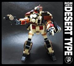 Jesta Desert type (4) (Commander626) Tags: mobile desert lego suit type combat gundam unicorn rgm mech hardsuit jesta