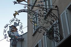 2014.12.23.093  LUCERNE - Enseigne (alainmichot93 (Bonjour  tous)) Tags: schweiz suisse luzern svizzera lucerne 2014 cantondelucerne