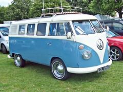 587 Volkswagen Transporter T2 Mk.1 (1965) (robertknight16) Tags: germany volkswagen german 1960s rv camper transporter enfield splitty eol596c
