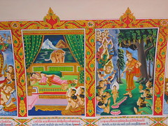 Paintings in Pha That Luang
