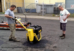 No.05 Using Bomag Roller