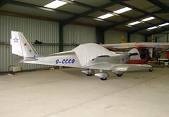 G-CCCO (Paul Thallon - Aviation Photos) Tags: eurostar oban egeo ev97 obn evektoraerotechnik gccco