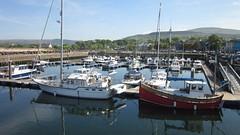 Ballycastle Harbour (divnic) Tags: ireland boats boat yacht walkway northernireland ni yachts moorings countyantrim ballycastle sailingboat pleasurecraft sailingboats northantrim moyledistrict laurimay