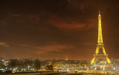 Ms. Eiffel, Paris, France (german_long) Tags: paris france night noche nightshot eiffeltower eiffel nocturna francia pars