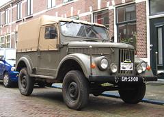 1957 GAZ-69M (ГАЗ-69) (rvandermaar) Tags: 1957 gaz69m газ69 gaz 69 газ sidecode1 import importkenteken dh5308 army truck rvdm