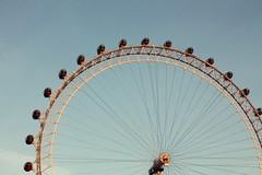 Eye (lor.rain.e) Tags: uk blue england sky london londoneye