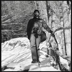 Antonio Sansica - Photographer (Sir Bob Monta) Tags: portrait orange snow 6x6 film blackwhite hasselblad filter neve medium format re bianco nero medio reggiano 120mm appennino formato kodaktmax100 binaconero hasselblad500c carlzeissplanar80mmf28 febbio epsonv500perfection