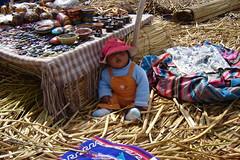 2007 - Peru - The Floating Village at Lake Titicaca (bellrockman2011) Tags: peru laketiticaca knitting cusco quinoa weaving puno taquileisland yavari lakedwellers