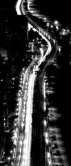 (Julian Boed) Tags: road light lake chicago cars wet rain drive nikon long exposure trails shore d7100