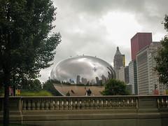 20071001 28 Millennium Park (davidwilson1949) Tags: chicago illinois millenniumpark cloudgate