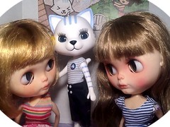 Part 2: Blythe-a-Day July: Zoo: Nikki-cat's Debut...