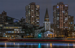 Battersea riverside (aurlien.leroch) Tags: saintmaryschurch europe london uk londres battersea river thames longexposure cityscape nikon d3000