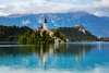 Slovenia, Bled - Island Church (Nomadic Vision Photography) Tags: travel europe jonreid lakebled nomadicvisioncom slovenia bled church fairytale iconic scenic picturesque