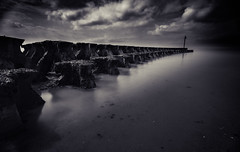 On Point (SimonTHGolfer) Tags: landscape seascape water landscapephotography suffolk felixstowe cobboldspoint blackandwhite longexposure england eastanglia nikon simontalbothurnphotography