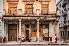 It's the Only Home I've Got (Geoff Livingston) Tags: street morning people rot photography decay havana corrosion