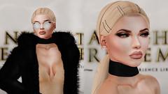 Arc de Triomphe - 046 (PRCIEUSE) Tags: sl secondlife fashion choker trend hype feed paris france blonde velvet rosie huntington