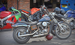 Any old Iron... (Harleynik Rides Again.) Tags: shovelhead harley anyoldiron bike v2 hd motorcycle harleynikridesagain