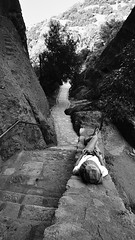 Outdoor Stairway#2 (dr_scholz@ymail.com) Tags: stairs mountain monestary meteora greece centralgreece rest leicam9 superelmarm21mmasph superelmarm21mmf34
