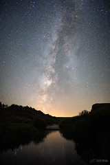 All Things Big and Small (RH Miller) Tags: rhmiller reedmiller landscape nightscape nightphotography stars milkyway meteor willowcreek idaho usa sky outdoor perseid