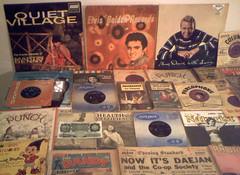 1950's : (Retro King) Tags: 1957 retro 1958 elvis records vinyl 1959 albums lps 45rpm singles vintage 1950s newspapers archive books comics