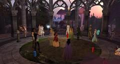 Avilion - Summer Solstice Ceremony (Osiris LeShelle) Tags: secondlife second life avilion heart medieval fantasy roleplay druids druidry ceremony awen shrine gathering summer solstice longest day circle