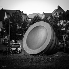 Kreiselkunst in Eislingen / Fils (-BigM-) Tags: deutschland germany baden wrttemberg gppingen eislingen fils kreisel kunst art sender empfnger