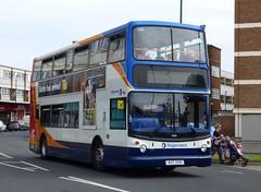 Stagecoach South 18518 (NDZ 3018) Bognor Regis 21/7/16 (jmupton2000) Tags: ndz3018 gx06dxs coastliner 700 alexander alx400 dennis trident stagecoach south uk bus southdown coastline sussex