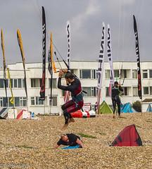 kitesurf 02-2 (Artbywigs) Tags: action artbywigs beach extremesport kitesurfing lancing sea sport summer sussex wigs
