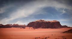 Wadi Rum Cliffs (madcityfinearts) Tags: jordan wadirum bedouin desert cliffs sand sandstone landscape travel
