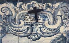 So Sebastio Inschrift (edgarhohl) Tags: hlsebastian saint sebastian gemlde