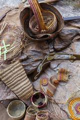 Katherine Gorge Aborigional basket weaving-3