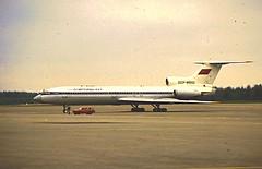 Aeroflot Tu-154 CCCP-85552 at HEL (gordon.bevan@xtra.co.nz) Tags: aeroflot tupolev154 helsinkiairport aeroflottu154 moscowairport