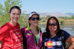 Hike with Lt. Governor Donna Lynne and CO State Rep Faith Winter