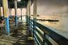 Summer Rain (floralgal) Tags: ryeplaylandpier ryenewyork playlandparkryenewyork longislandsound ryebeach ryenewyorklandscape ryenewyorkseascape summerrain rainingatplaylandpier puddlesonthepier dramaticskyinryenewyork oaklandbeach dramaticsky painterly