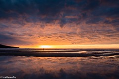 Touch the Sky (IrreBerenT) Tags: nature landscape reflections canon6d firecrest summer sea cloudscape beach sunset cantabria sanvicentedelabarquera gerra playamern irreberentenataliaaguado touchthesky sky clouds