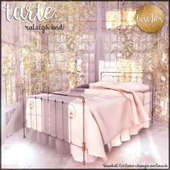 tarte. raleigh bed for Luxe Box August (tarte.) Tags: tarte mesh luxe box luxebox lb secondlife second life sl