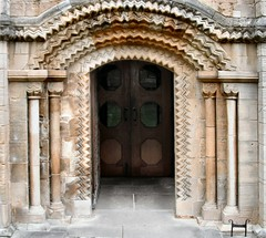 Southwell Minster (John McLinden) Tags: southwell minster nottinghamshire door doorway architecture arch
