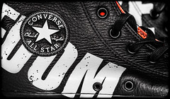 Converse. (CWhatPhotos) Tags: converse all star stars allstars ox oxford american baseball shoe red white rubber sneakers design chuck taylor feet foot wear shoes closeup sole size 11 macro photographs photograph pics pictures pic picture image images foto fotos photography artistic cwhatphotos that have which with contain chucks canvas canvasshoes sex pistols boots black leather boredom nowhere punk rock punks