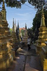 Wat Bo, Siem Reap, Cambodia (Thainlin Tay) Tags: temple cambodia buddhist siemreap stupas watbo