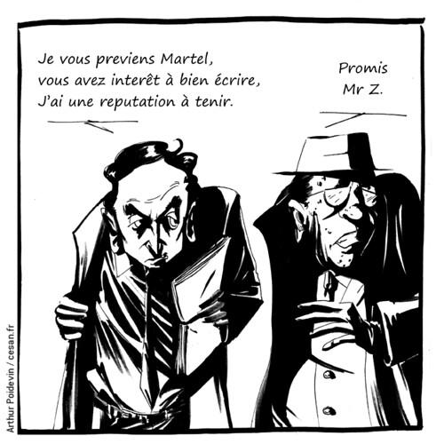 Le livre d'Éric Zemmour en correction au FN, avec l'aide d'un journaliste ?, par Arthur Poidevin