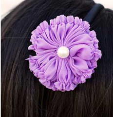 Glimpse of Malibu Purple Headband K1 P6510A-3