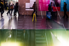 Tate Modern (andyleates) Tags: reflection andy 50mm nikon andrew tatemodern escalators d610 andyleates leates andrewleates