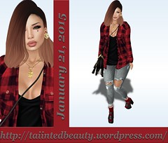 Lotd 315 (Taiinted Beauty) Tags: moon gold blog yummy blogger sl secondlife foxes zenith reign lotd ootd slhairstyle kustom9 lvl93 topicofdiscussion ntwenty1