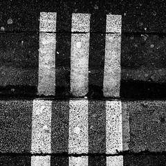 HLM (fredoloco) Tags: blackandwhite paris sol sign noir pavement ground panasonic micro signalisation monochrom et blanc 43 gf1