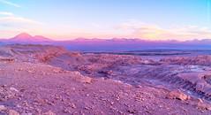 Resting on the moon (Luis Prez Corts) Tags: chile sunset naturaleza mountains nature landscape atardecer desert earth paisaje valledelaluna desierto sanpedrodeatacama moonvalley regiondeantofagasta sonya58
