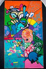 Fresque by Jeanjerome #1 (ur.bes) Tags: street urban art wall work canon painting eos graffiti artwork mural paint tag murals style dessin spray peinture 600 walls lettering draw graff aerosol urbain fresque urbaine lettrage 600d urbanarte