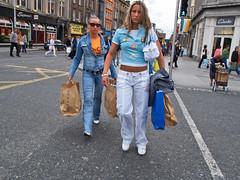 meanwhile in Dublin (MzF.) Tags: street girls dublin shopping olympus gals e1 1454mm
