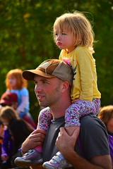 An attentive pair (radargeek) Tags: alaska ak palmer 2014 shoulderride alaskanstatefair