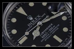 Rolex Submariner 1680 (Apiacreations) Tags: vintage rolex submariner cuir 1680